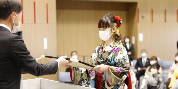 豊橋歯科衛生士専門学校 卒業式
