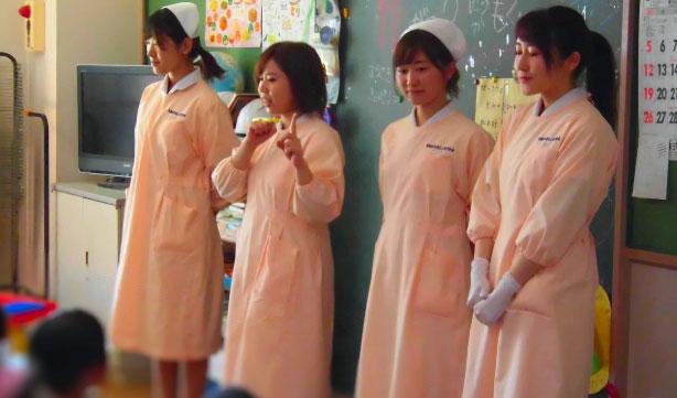 豊橋歯科衛生士専門学校 保育実習